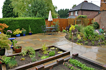 Planting scheme by Castle Landscapes